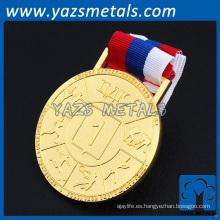 Personalizar las medallas de metal de diseño con cinta