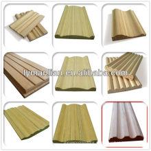 moldeado de madera de la India recon