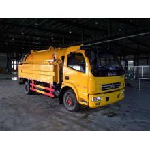 DONGFENG 4X2 8CBM Camion citerne d'aspiration des eaux usées