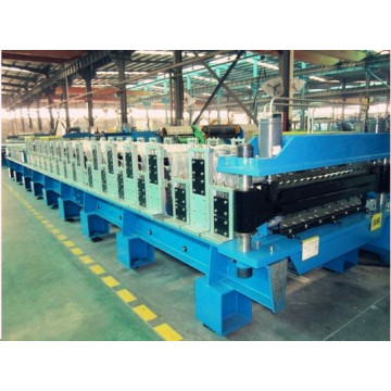 Rolling machine for double layer sheet