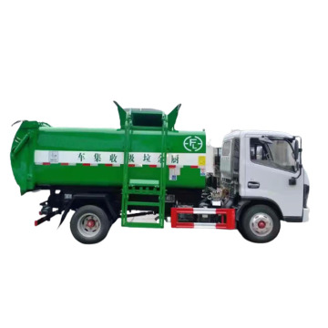 Dongfeng cooking waste garbage truck for sale