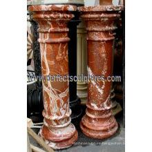 Stone Granite Sandstone Marble Pillar for Home Decoration (QCM139)