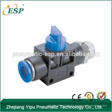 ningbo ESP high quality straight thread pneumatic hand lever valves