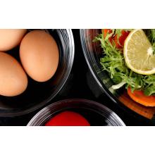 High quality 6pcs set Transparent Salad Bowl