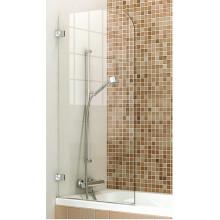 Душевая дверь в ванной просторная душевая комната