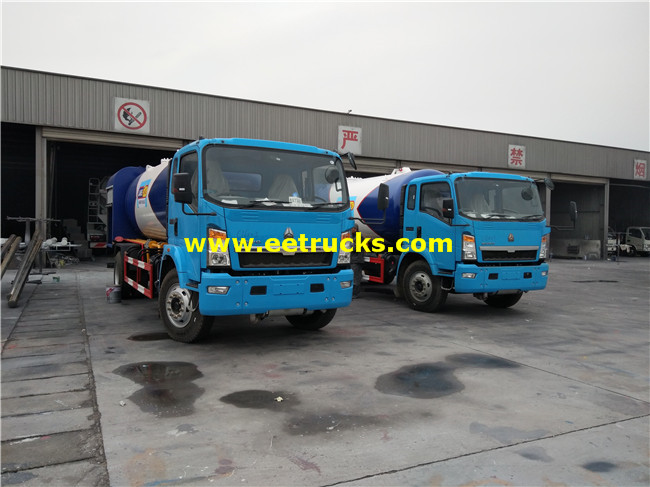 LPG Gas Filling Trucks