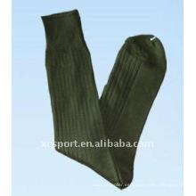 Algodón de punto hombres calcetines militares