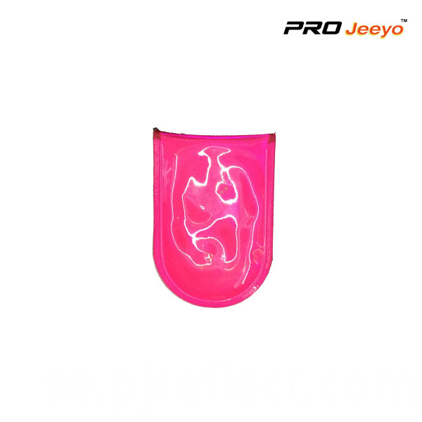 Pvc Pink Led Light Magnetic Clip For Bagscj Pvc001