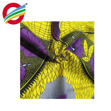 100% cotton african wax prints fabric real for Garment