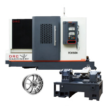 High Precision CNC Milling And Turning Center TCK50A Slant Bed CNC Lathe With Tailstock
