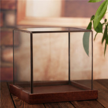 Wholesale hot sale clear geometric glass terrarium