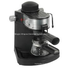 Vapeur de 4 tasses expresso et Cappuccino Machine