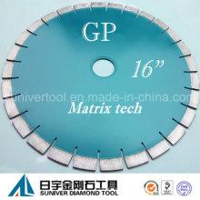 "GP 16 ""* 20 mm Cuchilla de diamante superior para granito"