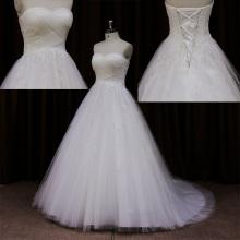 Вопиющие лук просто пляж дружественных свадебное платье