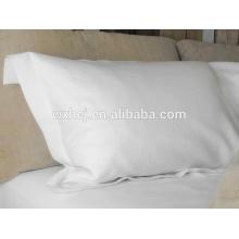 Percale cotton white Pillow tick/pillow slip