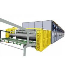 Mesh dryer wood veneer drying machine for face veneer