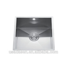 Commercial Best Selling DS-4444 sink caddy stainless steel western bathroom kitchen single bowl sink