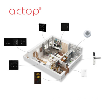 Smart Hotel Automation Host Custom Hotel Wall Switch Sockets Door Plate Hotel Door Lock Μουσική Ιστορικό Host