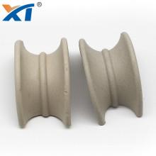 Chemical intalox saddle packing 1'' 1.5'' 2'' 3'' ceramic intalox saddles for towers