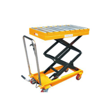 Portable Hydraulic Roller Conveyor ganda Scissor Lift Table