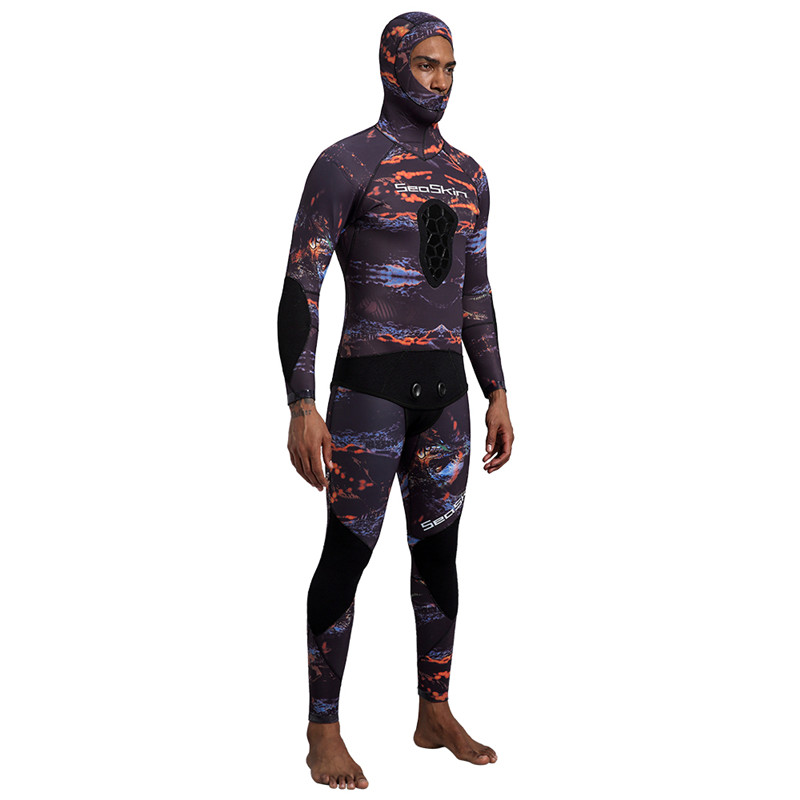 Seaskin Mens Neoprene Professional Spearfishing Wetsuits