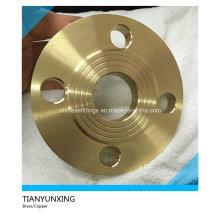Raised Face Brass/Copper/Copper-Nickel Slip on Flange