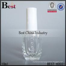 10ml nail polish bottles white cap; hot sale perfume oil bottles in dubai; best-selling glass bottle in UAE