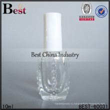 10мл лак для ногтей бутылки с белой крышкой; горячие продажи духи бутылки масла в Дубай; самое лучшее-продажа стеклянной бутылки в ОАЭ