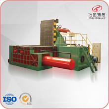 Machine de compression de recyclage de copeaux d'acier de ferraille