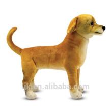 ICTI fábrica de encargo realista perro de juguete de peluche