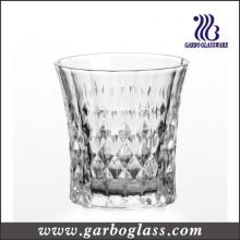 Diamante diseño 8 oz grabado Copa de vidrio (GB041008ZB)