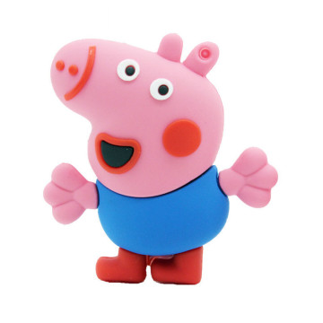 Cartoon Piggy USB Flash Drive
