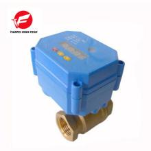 CWX-15N 2.0NM 5S DC9-24V válvula de agua de control eléctrico de latón con temporizador