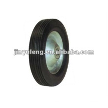 8x1.7solid rubber wheel