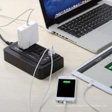 ORICO OPC-2A4U 2 tomadas de adaptador de saída 4 soquete de carga USB combinado