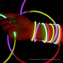 bracelet extensible lumière rougeoyante
