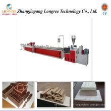 Holz-Kunststoff-Wand-Extrusionslinie