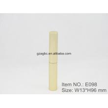 Slender & à la mode en forme de stylo en aluminium rouge à lèvres Tube E098, taille de tasse 8,5 mm, couleur personnalisée