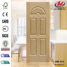 JHK-015 8mm Depth Decorative Internal Moulded EV ASH Veneer Laminate Door Skin