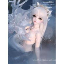 Boneca Elegance Mermaid-Dione Boneca com articulação esférica de 45 cm