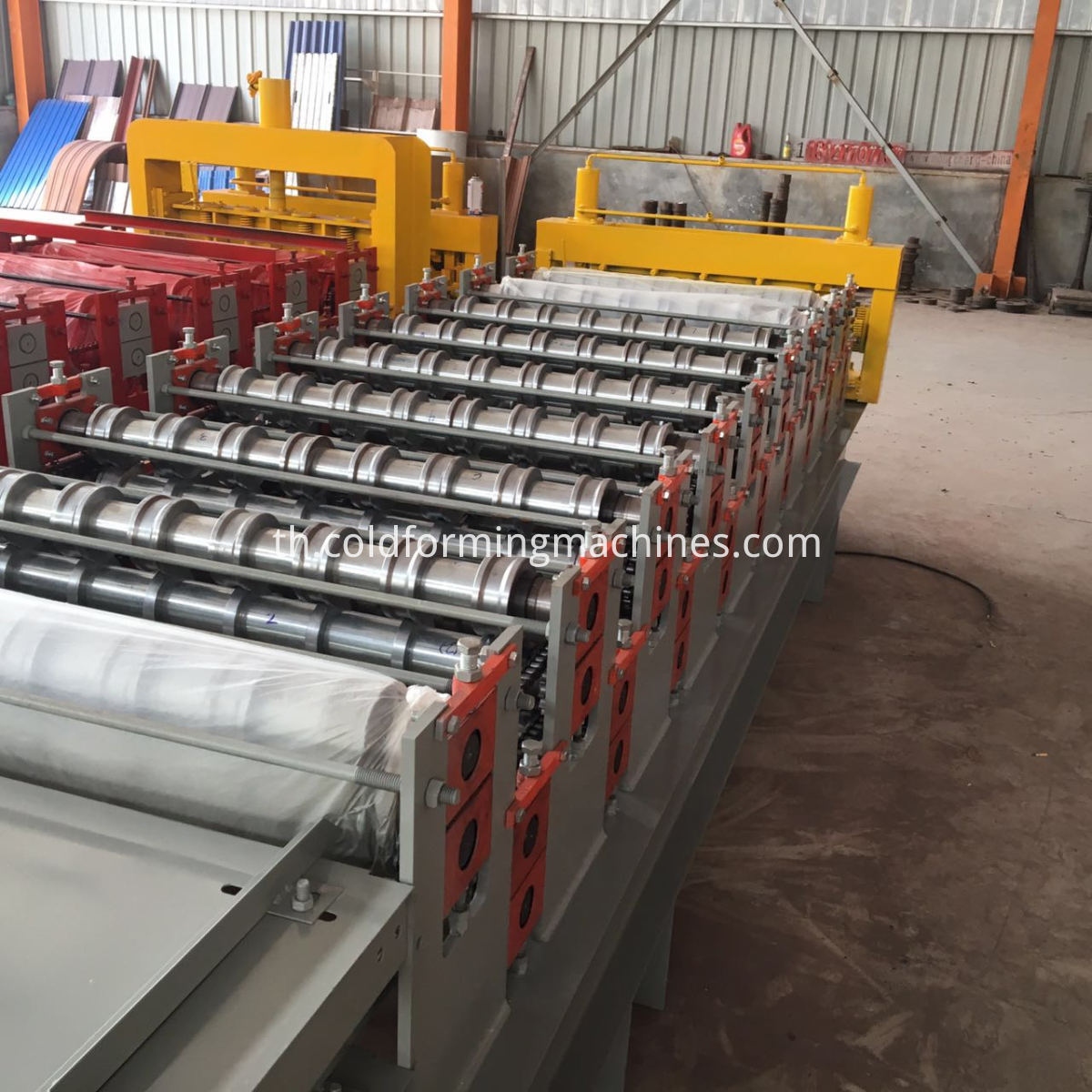 910-900 Double Layer Roll Forming Machine
