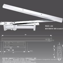 Door Closer Suppliers supply Conceald type aluminum door closer with CE