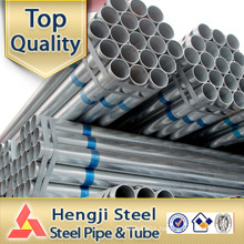 Galvanized welded Steel pipe Hot dipped zinc coating