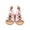 Infant Toddler High Leather Roman Baby Sandals Niños