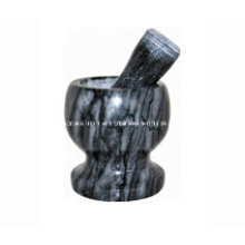 Мини-каменные растворы и пестики Размер 11X10 см