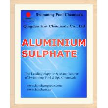 Industrial Grade Non-Iron Aluminium Sulfate for Water Treatment Chemicals (Flocculant)