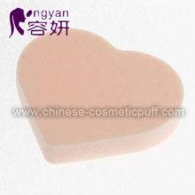 Heart Shape Latex Free Facial Sponge