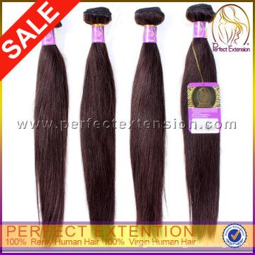 Высокое качество дешевых прямой волны 100% бразильским натуральные волосы