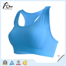 Private Label Free Size Blaue Farbe Sport BH Fitness Tragen