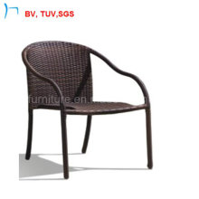 China Outdoor Chair Stackable Rattan Chair with Arm (C-2040)